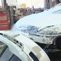 FRPパーツ修理